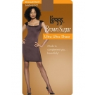 L'eggs Brown Sugar Ultra Ultra Sheer Panty Hose, Extra Large, Jet Brown ** Extended Lead Time **