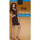 L'eggs Brown Sugar Ultra Ultra Sheer Control Top Panty Hose, Large, Jet Brown