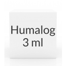 Humalog Insulin 100U/ml KwikPen 3ml Cartridge - Box of 5 Cartridges