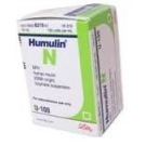 Humulin N, 100 units/ml - 3 ml Vial