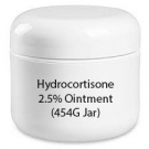 Hydrocortisone 2.5% Ointment (454G Jar)