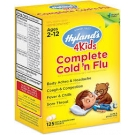 Hyland's 4Kids Complete Cold n Flu Quick Dissolve Tablets - 125ct