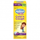 Hylands 4 Kids Cold n Cough Grape Flavor Liquid - 4 fl oz