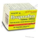 Ibuprofen 200mg - 50 Caplets