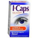 ICaps (Lutein & Zeaxanthin) - 60 Count Bottle