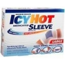 Icy Hot Sleeve Ankle/Knee Large 3/Box