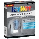 Icy Hot Advanced Pain Relief Patch- 5ct