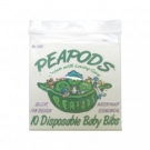 Peapods Disposable Baby Bibs - 10ct