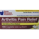 Good Neighbor Pharmacy Arthritis Pain Relief Acetaminophen Extended Release 650mg Caplets-100ct