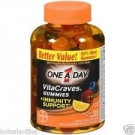 One A Day VitaCraves Immune Support Gummies, Orange- 150ct