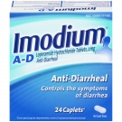 Imodium A-D Anti-Diarrheal Caplets- 24ct