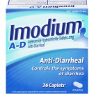 Imodium A-D Anti-Diarrheal Caplets- 36ct