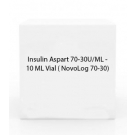 Insulin Aspart 70-30U/ML - 10 ML Vial ( NovoLog 70-30)