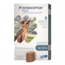 Interceptor Plus For Dogs 50-100lbs- 6 tablet pack (Blue)