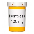 Isentress 400mg Tablets - 60 Count Bottle