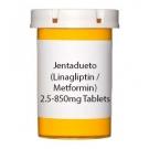 Jentadueto (Linagliptin / Metformin)  2.5-850mg Tablets