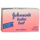 Johnson & Johnson Baby Bar 3 oz