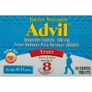 Advil Junior Strength, 100 mg, 24 Tablets