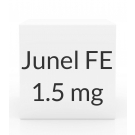 Junel FE 1.5-0.03mg Tablets - 28 Tablet Pack