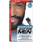 Just for Men Mustache Beard and Sidburns Brush In Color Gel Jet Black - 2x0.5oz