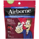 Airborne Immune Support Supplement with Vitamin C Lozenges - 20ct