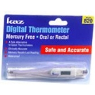 Kaz Digital Thermometer Mercury Free 820