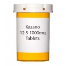 Kazano 12.5-1000mg Tablets