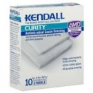 Kendall Curity Antimicrobial Gauze Dressing, 4