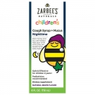 ZarBee's Naturals Children's Cough Syrup + Mucus Reducer, Nighttime Grape- 4oz