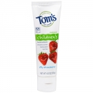 Tom's of Maine Children's Natural Fluoride Toothpaste, Strawberry- 4.2oz