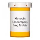 Klonopin (Clonazepam) 1mg Tablets