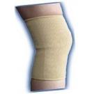 Knee Sleeve Elastic Beige Small-Bell Horn