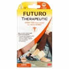 FUTURO Therapeutic Knee Length Open Toe-Beige-Firm- Large