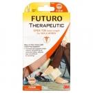 FUTURO Therapeutic Knee Length Open Toe-Beige-Firm- Large