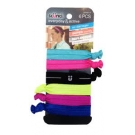 Scünci Knot Ponytailers, 6ct- 3 Packs (Colors May Vary)