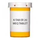 K-TAB ER 20 MEQ TABLET