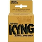 Lifestyles Kyng Gold Condoms- 3ct