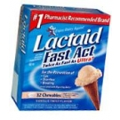 Lactaid Fast Act Chewables Vanilla Twist  32 TB