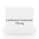 Lanthanum Carbonate 750mg  Chew Tablets-90 Tab Pack
