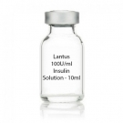 Lantus 100U/ml Insulin Solution - 10ml Vial