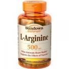 Sundown Naturals L-Arginine 500mg Dietary Supplement Capsules - 90ct