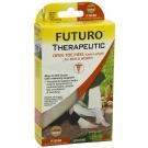 FUTURO Therapeutic Knee Length Stocking Open Toe/Heel-Beige-Firm 20-30mmHg- Large