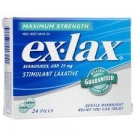 ex-lax Stimulant Laxative Maximum Strength Tablets - 24ct