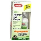 Leader Allergy Eye Drops - 0.17 oz(5 ml)**SPECIAL PRICE***EXPIRE 5/15