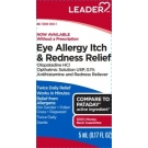 Leader Eye Allergy Itch and Redness Relief Twice Daily Drops 5mL