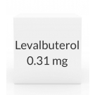 Levalbuterol 0.31mg/3ml Inhalation Solution -25x3ml Vial Box