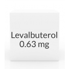 Levalbuterol 0.63mg/3ml Inhalation Solution- 25 Vial Pack