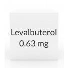 Levalbuterol 0.63mg/3ml Inhalation Solution (Generic Xopenex) - 24 Vial Pack