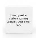 Levothyroxine Sodium 125mcg Capsules- 30ct Blister Pack