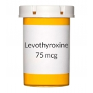 Levothyroxine (Synthroid, Levoxyl) 75mcg Tablets